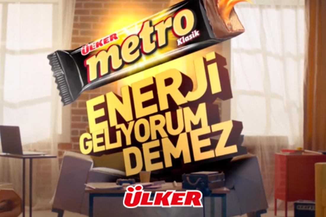 Ulker Metro – Enerji Geliyorum Demez