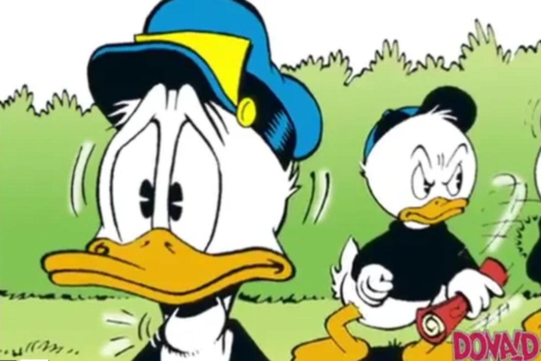 Reklamefilm – Donald Duck
